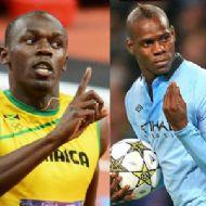 Bolt ile Balotelli Arasında Polemik