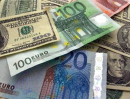 Dolar ve avroda yeni gün rakamları